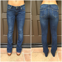 Bridget Medium Wash BootCut Denim Pants