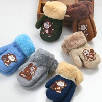 Baby Girls Boys Winter Gloves