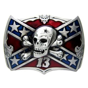 New Arrived skull buckle for Motorcycle Club biker clothing belt buckle Accessoies