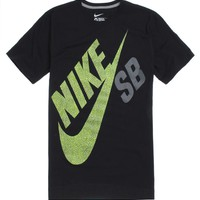 Nike SB Exploded T-Shirt - Mens Tee - Black