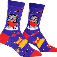 Dress up Meow | CREW SOCKS WOMENS