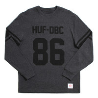 Wrecking Crew Longsleeve Football Jersey Charcoal Heather