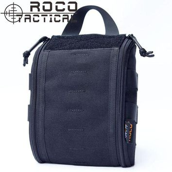 ONETOW ROCOTACTICAL Outdoor Emergency Military Medical Bag Molle EMT Tactical Medic Pack First Aid Pouch Bag of Cordura 1000D Nylon