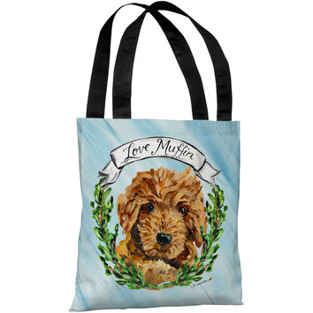 """""""Doodle"""" 18""""x18"""" Tote Bag by Timree Gold"""