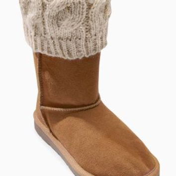 Buy Knitted Pull-On Boots (Older Girls) online today at Next: Rep. of Ireland