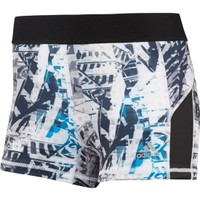 "adidas Women's techfit 3"" Urban Print Boy Shorts 
