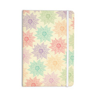 "Pom Graphic Design ""Spring Florals"" Rainbow Tan Everything Notebook"