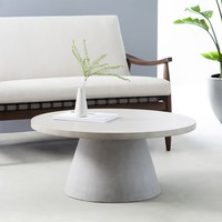 Outdoor Pedestal Coffee Table
