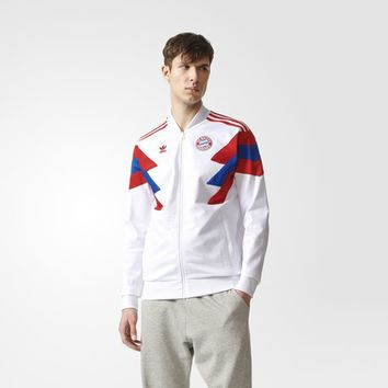 adidas FC Bayern Munich Track Jacket - White | adidas UK