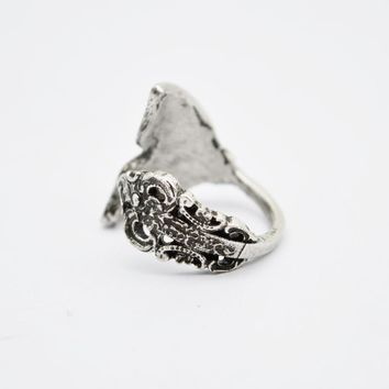 10pcs Romantic Whale Mermaid Tail Rings Adjustable Spoon Jewelry Rings Engagement For Women RG57