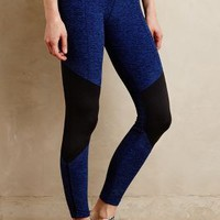 Zipped Spacedye Leggings by Beyond Yoga Blue