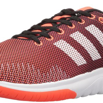 adidas NEO Men's Cloudfoam Super Flex Running Shoe Black/White/Infrared 11 D(M) US '