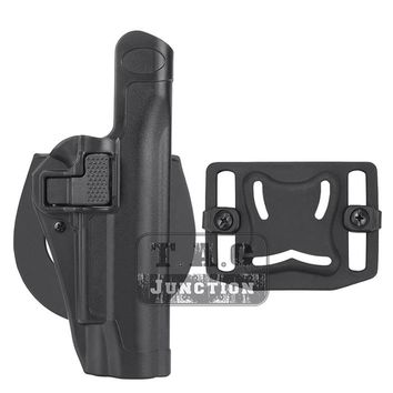 Tactical Serpa Level 2 Auto Lock Duty Quick Right Hand Belt Loop Pistol Holster Full Length Gun Case for Colt 1911 M1911