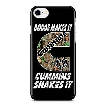 Dodge Makes It Cummins Shakes It Iphone 8 Case