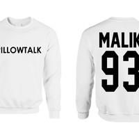 zayn malik pillowtalk womens Sweatshirt