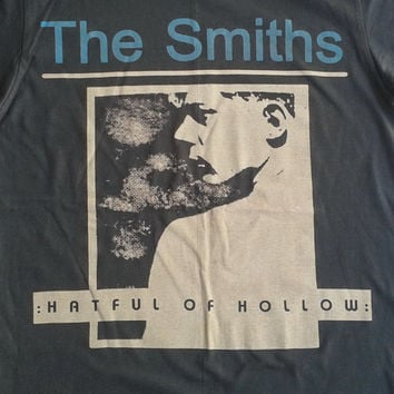 The Smiths Hatful Of Hollow  Rock  T shirt  Unisex  Tshirt  Size Large