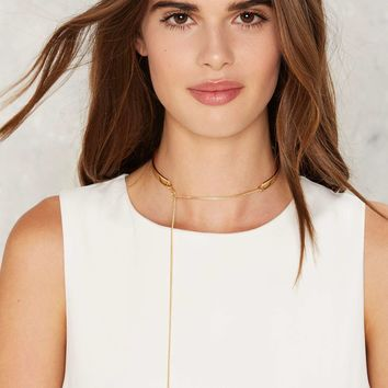One Fell Swoop Collar Necklace
