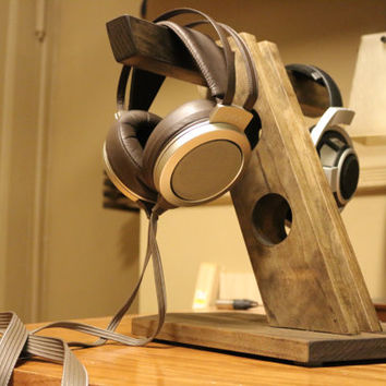 Custom Handmade Headphone Stand