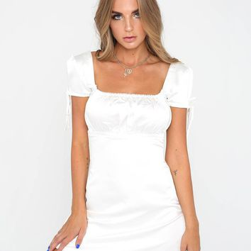 Buy Our Tyra Dress in Cream Online Today! - Tiger Mist
