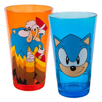 Sonic The Hedgehog - Blast Off Pint Glass Set