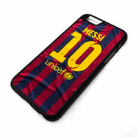 LIONEL MESSI Barcelona FC iPhone 4/4S 5/5S 5C 6 6 Plus Case