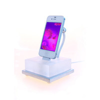 "iPhone 5 beautiful color changing iPhone dock. ""The Lavalamp for the 21st Century"""