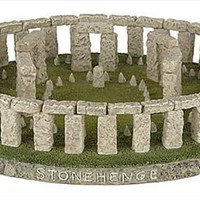 Stonehenge Monument Restored Astronomical Calendar Statue Replica 8.75W