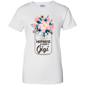 Happiness Is Being Gigi Life Flower Gigi Gifts