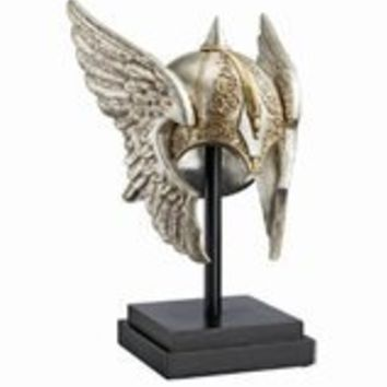 Home Decor | Valkyrie Helmet Statue