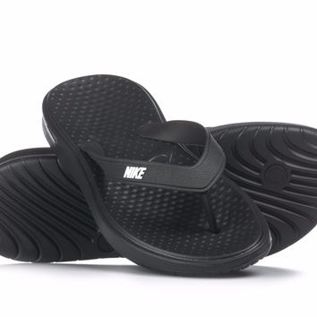 Nike Solay Thong Mens Sandals Slippers Slides 882690-005 Black