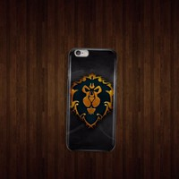 Alliance Logo World of Warcraft iphone 4 5 5c 6 6plus, samsung S4 S5 case