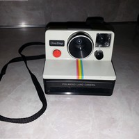 Polaroid OneStep SX-70 White/Rainbow Camera:Amazon:Camera & Photo