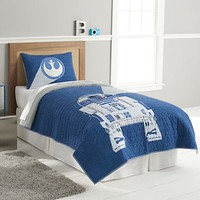 Star Wars Home R2D2 Quilt Set