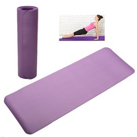 "68""x24""x0.3"" 8mm Thick Yoga Mat Non-Slip Exercise Fitness Multicolor = 1933072068"