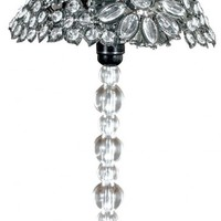PD Global Crystal Clear Table Lamp