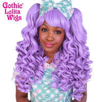 Gothic Lolita Wigs®  Baby Dollight™ Collection - Lavender Mix - 00010