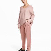 Satin Pants - from H&M