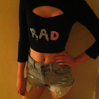 RAD Top by NotThemBasicTops on Etsy