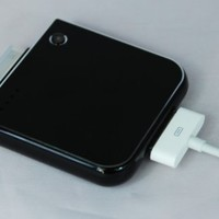 Tursion Ultra Power 1900 mAh (BLACK) Backup Battery Charger for iPhone 4,4G, 3GS, 3G ,iPod, iTouch-EXTERNAL, PORTABLE, RECHARGEABLE