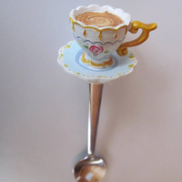 Delicate Teacup Sugar Spoon Tea Cup Spoons Victorian Tea Spoon Collector Gift Teacup Lover Gift Idea Tea Cup Collector Collecting Teacups