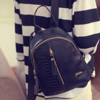 Small BackPack PU Leather Fashion Bag