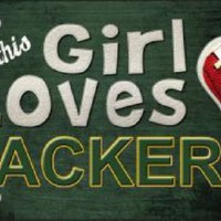 This Girl Loves Her  Packers NFL Tag