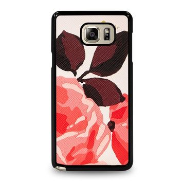 KATE SPADE CAMEROON STREET ROSES Samsung Galaxy Note 5 Case