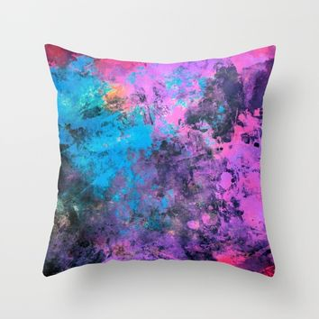 digital art 1 Throw Pillow by Lionmixart