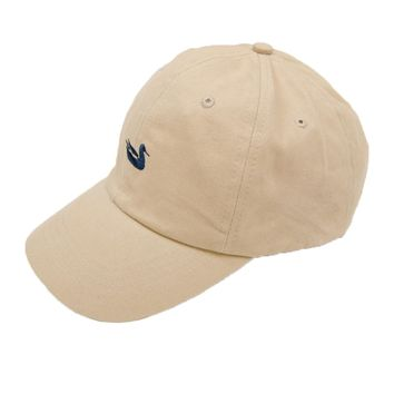 Signature Hat in Tan with Navy Duck by Southern Marsh