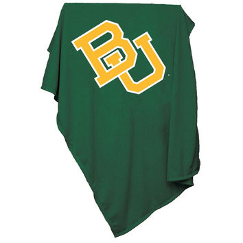 Baylor Bears NCAA Sweatshirt Blanket Throw