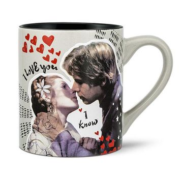 Star Wars I Love You / I Know 14oz. Ceramic Mug