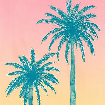 'Palm Trees' Poster by Tracie Andrews