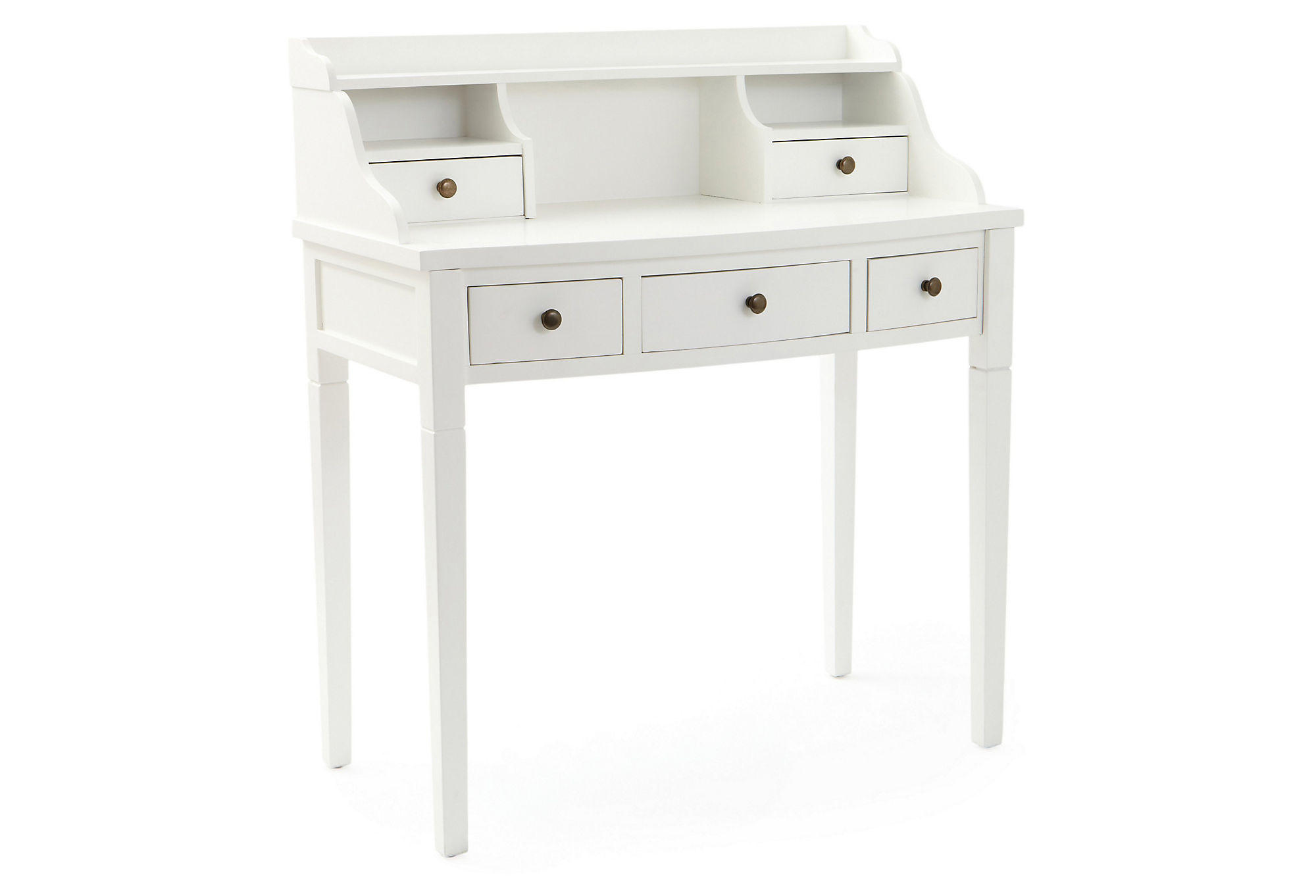 Ava Writing Desk White Writing Desks From One Kings Lane