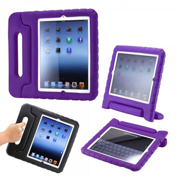 Kids Safe Shock Proof Carrying Case for iPad Mini 1/2/3 Purple